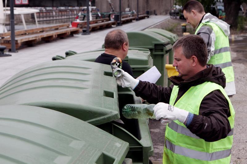 Atliekas Klaipėdos senamiestyje rūšiuoja tik trečdalis įmonių