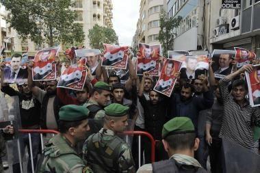 JAV skelbia sankcijas Sirijai