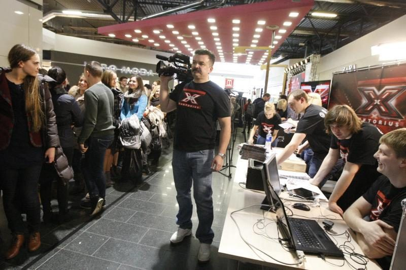 """Klaipėdiečiai veržėsi į TV projektą """"X faktorius"""""""