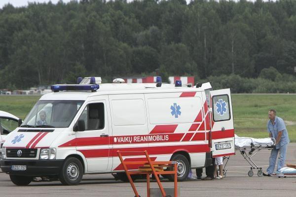 Į Čekiją išskraidintos dvi traumas patyrusios skautų dviratininkės (atnaujinta)