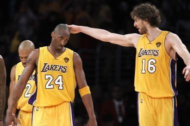 """""""Lakers"""" išlygino NBA finalo serijos rezultatą"""