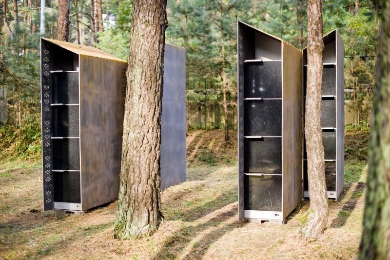 Petrašiūnų kapinėse pastatyti pirmieji kolumbariumai
