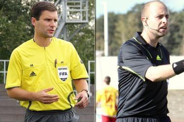 Lietuvos teisėjai pradeda darbą UEFA čempionatuose