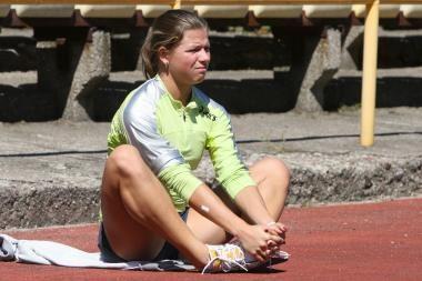 Sprinterė L.Grinčikaitė – pateko į pusfinalį