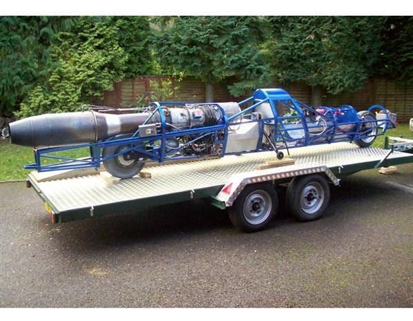 """""""Jet Reaction"""": reaktyvinis motociklas 720 km/h greičio rekordui"""