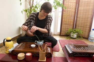 Vilniaus paveikslų galerijoje - japoniškos arbatos ceremonija
