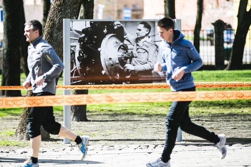 Istoriniame bėgime už S. Darių ir S. Girėną – ir vaikai, ir senjorai