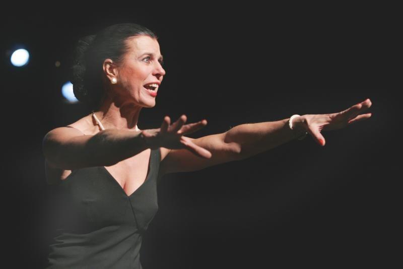 """N.Narmontaitė 250-ąjį kartą vaidins spektaklyje """"Meistriškumo pamoka"""