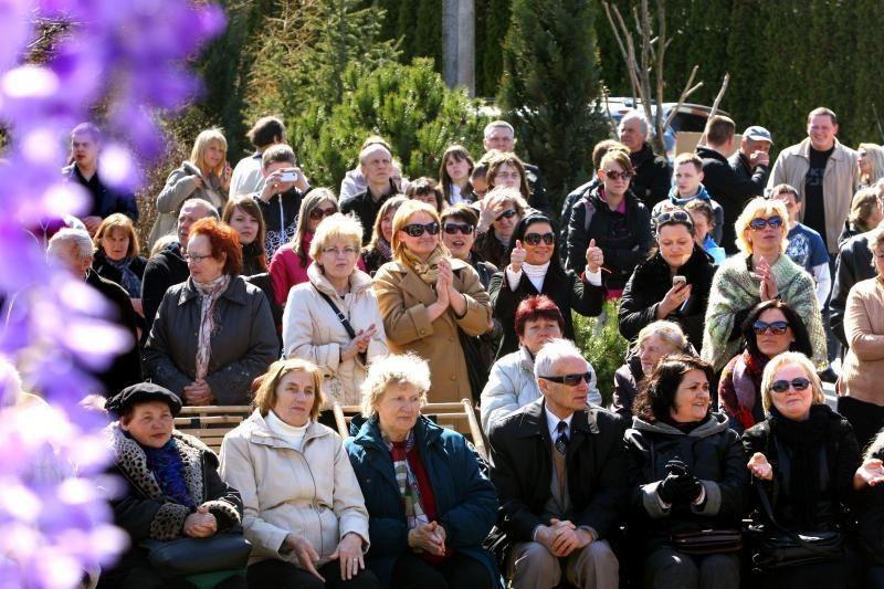 Kultūros ministerija – prieš menininkų pasirodymus Garliavoje