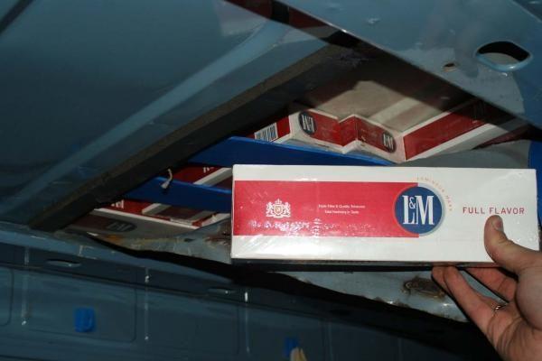 Klaipėdietis į Norvegiją vežė ir baldus, ir cigaretes