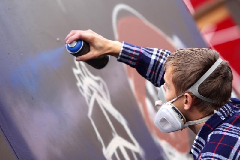 6 Vilniaus vietose galima piešti grafičius nederinant su savivaldybe