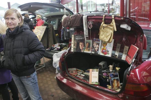 Bagažinių turgus keliasi į Klaipėdą