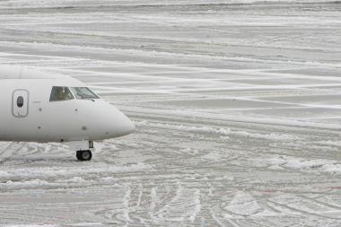 Iš Vilniaus oro uosto atšauktas skrydis į Dubliną