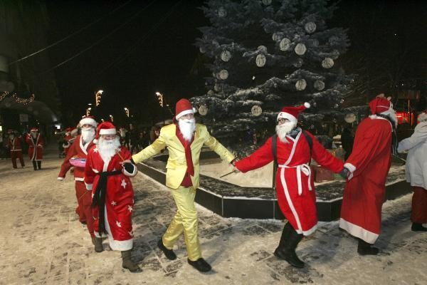 Kaune Kalėdas pranašauja dar dvi miesto eglutės
