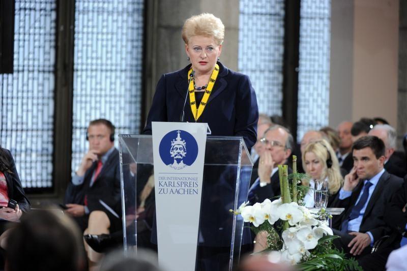Prezidentė: šį pusmetį dirbsime stiprindami ES finansinį stabilumą
