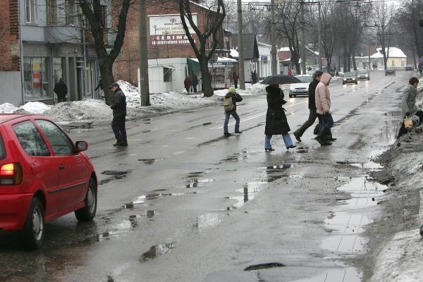 A.Juozapavičiaus prospektui milijonai, kitoms gatvėms - špyga