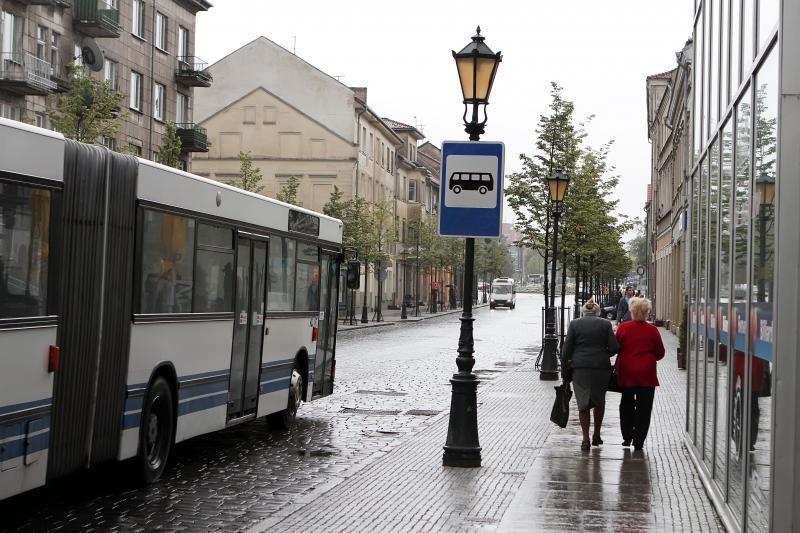 Klaipėdos senamiestyje - nauja autobusų stotelė (papildyta)