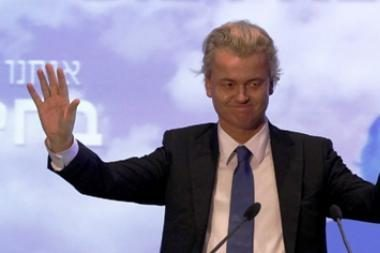 Nyderlandų parlamentaras Wildersas - teisme dėl pasisakymų prieš islamą ir imigrantus