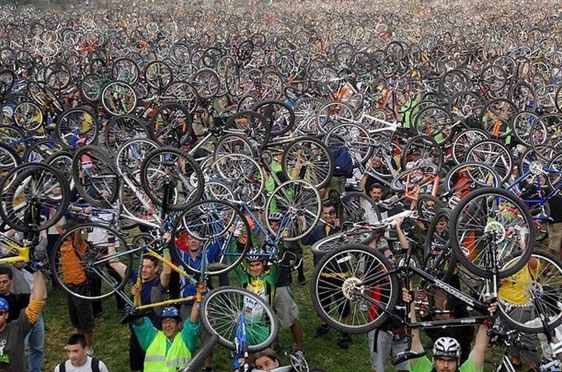 Gargždų 760-ojo jubiliejaus proga – 760 dviratininkų žygis