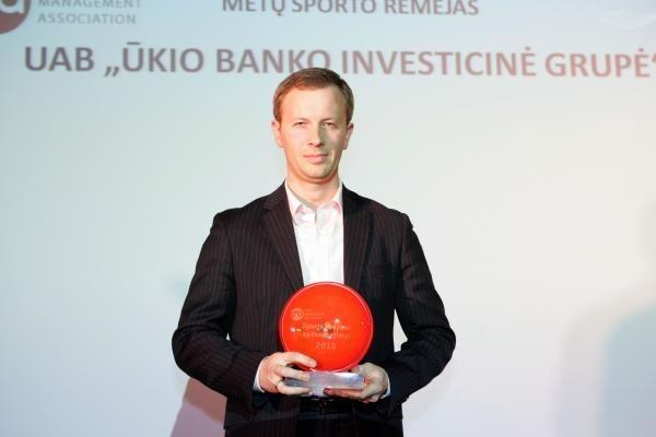 Įteikti apdovanojimai už sporto vadybą