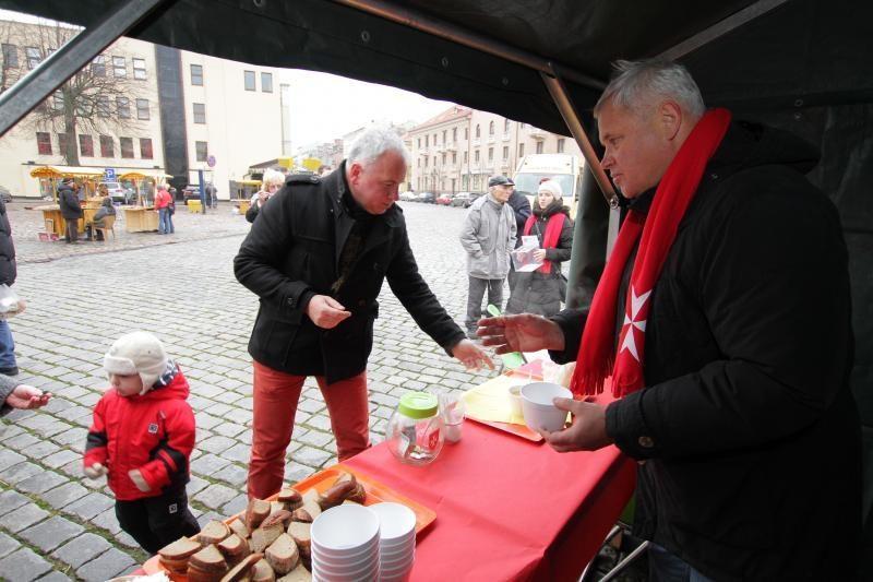 Maltiečiai savo gerumo akciją pradėjo Klaipėdoje (papildyta)