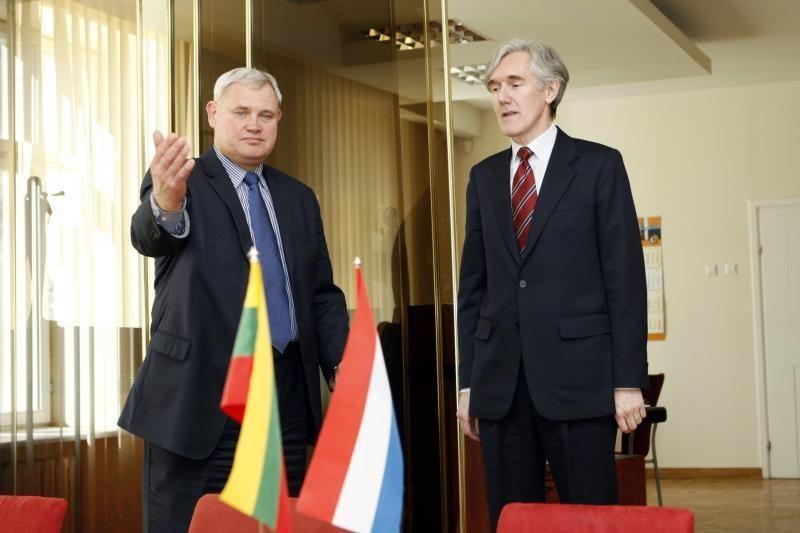 Klaipėdos meras Olandijos ambasadorių pakvietė į džiazo festivalį