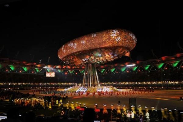 Delyje įspūdinga atidarymo ceremonija prasidėjo Sandraugos žaidynės
