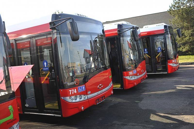 Į Kauno gatves išriedėjo pirmieji ekologiški autobusai