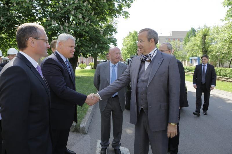 Trečiadienį Klaipėdoje ir Palangoje vieši Estijos prezidentas