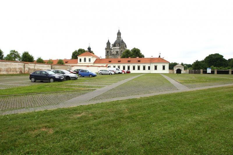 Šalia Pažaislio vienuolyno naktį bus draudžiamas eismas