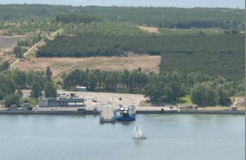 Klaipėdos miesto teritorija  sumažėjo