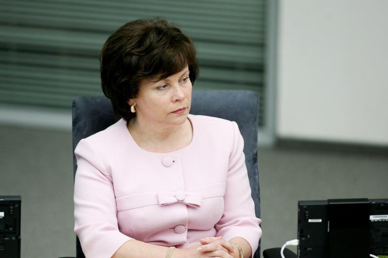 Ministrė: sprendimas pirkti sraigtasparnius priimtas vienbalsiai