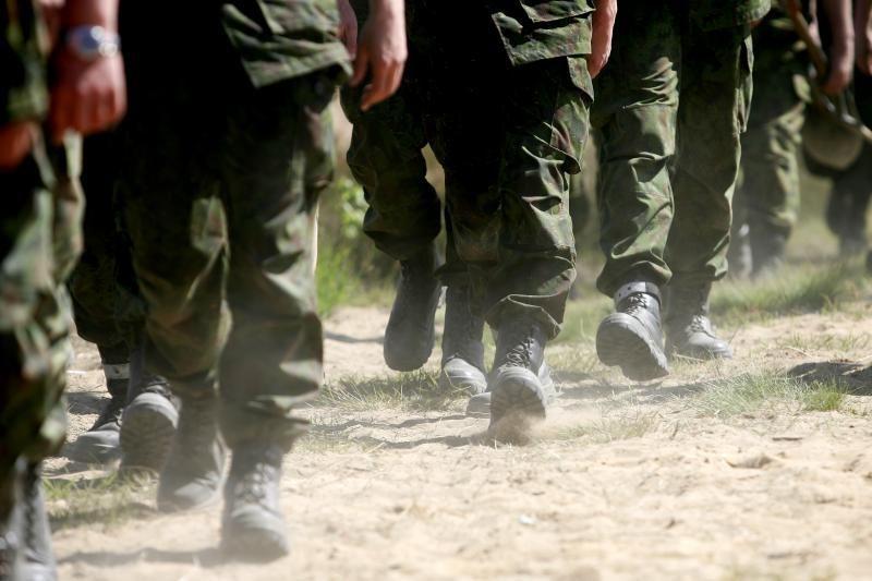 Seimas pritarė karių skaičiaus didinimui