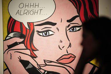 R.Lichtensteino paveikslas parduotas už rekordinę 42,6 mln. dolerių sumą