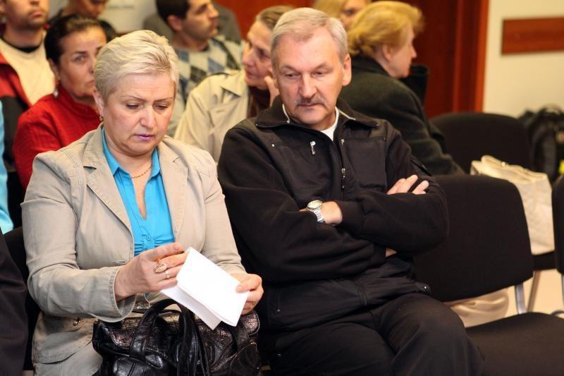T. Stankūnienė: pasiūliau A. Ūsui tapti mergaitės krikštatėviu