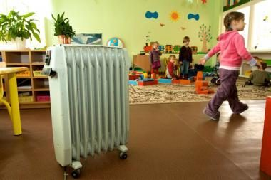 Pradėta šildyti dalis ikimokyklinių įstaigų