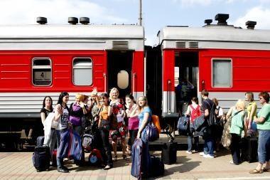 Lietuvos ir Rusijos geležinkeliai pasirašė krovinių vežimo sutartį