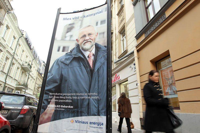 """A.Zuokas: jei pamatysite """"Vilniaus energijos"""" reklamą, skambinkite man"""