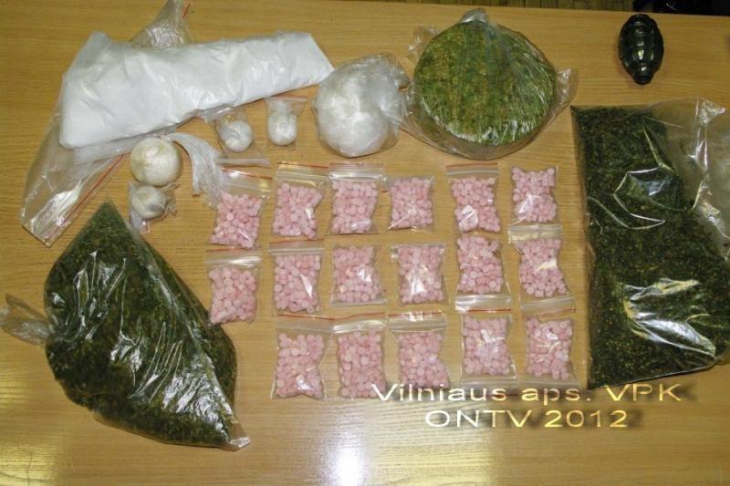 Vilniuje policija smogė narkotikų platintojams