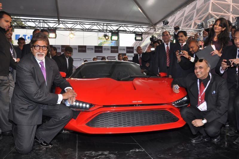 Pristatytas pirmasis indiškas superautomobilis
