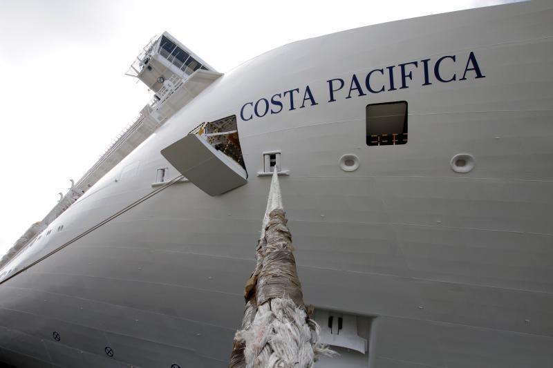 """Uostamiestyje vieši jūrų milžinas – """"Costa Pacifica"""""""