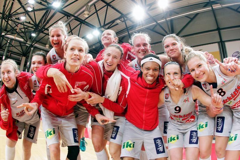 Vilnius kitą sezoną turės klubą moterų Eurolygos turnyre