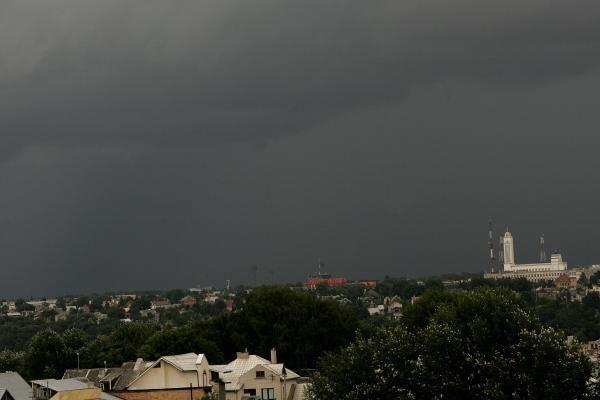 Kaunas išgyveno dar vieną smarkų lietų