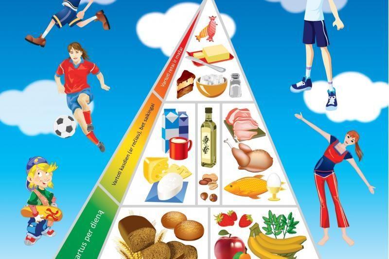 Norite būti sveiki? Maistą rinkitės atsakingai!
