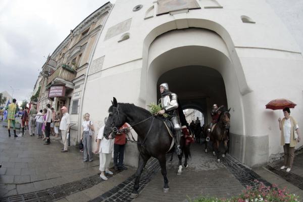 Vytautas Didysis sostinėje išlydėtas į Žalgirio mūšį