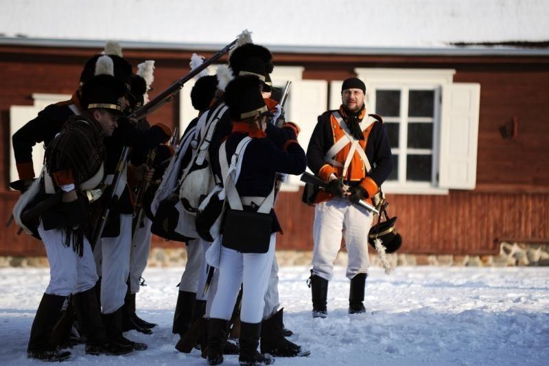 Rumšiškėse kariavo muzikanto iš Romos armija?