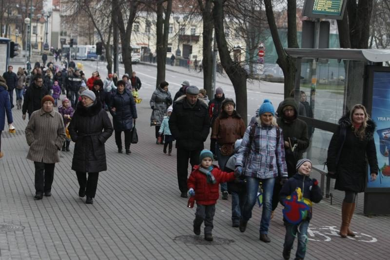 Šv. Martyno dieną - šimtų mažųjų klaipėdiečių eisena su žibintais