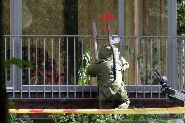 Graikijoje neutralizuota Prancūzijos ambasadai adresuotoje pašto siuntoje paslėpta bomba