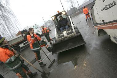 Kauno kelininkai po streiko sugrįžo į gatves