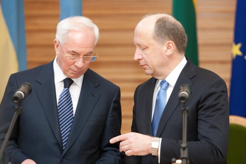 Lietuva reiškia didelį susirūpinimą dėl J.Tymošenko